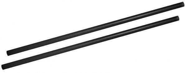 Jumbotrinkhalme 24cm schwarz